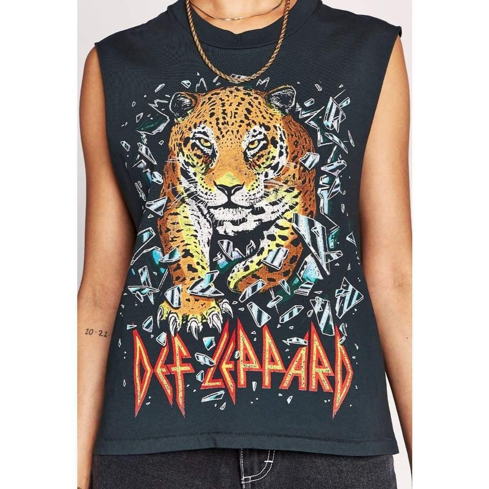 Daydreamer Def Leppard All Time Rocker Muscle Tee - The Vintage Bohemian