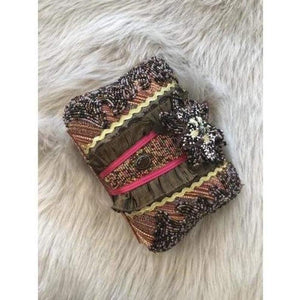 Load image into Gallery viewer, Vintage Beaded Clutch
