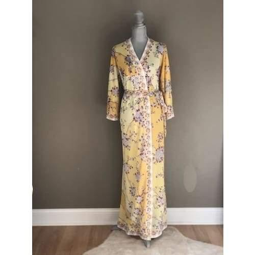 Emilio Pucci | Vintage Wrap Dress | The Vintage Bohemian