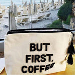 Fallon and Royce Crystal Bikini Bag Clutch | But First Coffee | The Vintage Bohemian