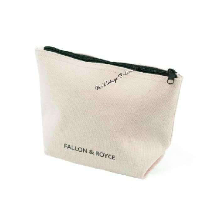 Fallon and Royce Crystal Cosmetic Case | Boss Babe | The Vintage Bohemian