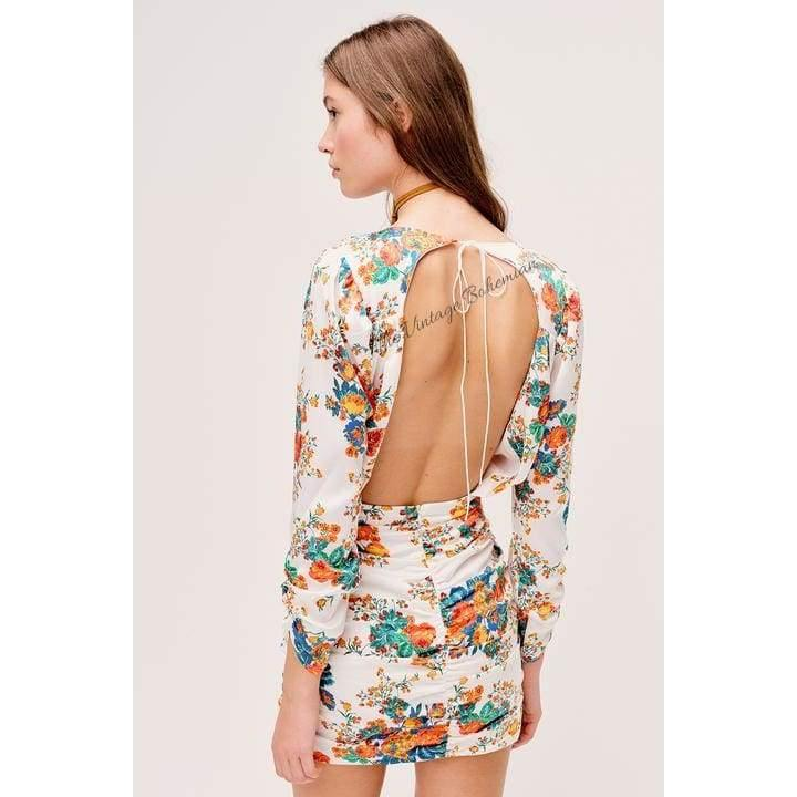 Load image into Gallery viewer, For Love & Lemons Brandy Mini Dress