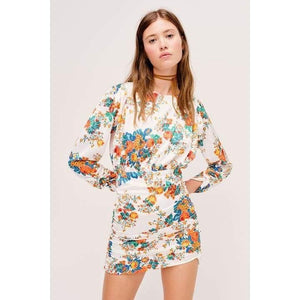Load image into Gallery viewer, For Love & Lemons Brandy Mini Dress - The Vintage Bohemian