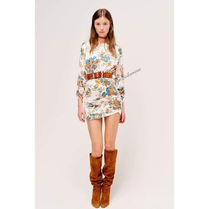 For Love & Lemons Brandy Mini Dress - The Vintage Bohemian