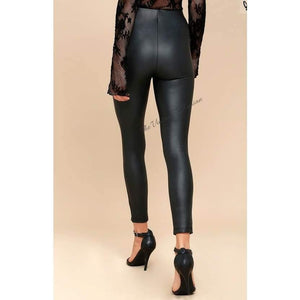 Load image into Gallery viewer, Gentle Fawn Donovan Vegan Leather Legging | Black