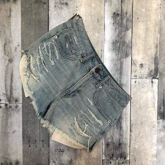 High Waist Festival Shorts Vintage | The Vintage Bohemian