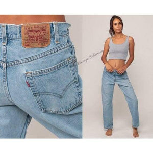 Levi's High Waist The Mom Of Mom Jeans