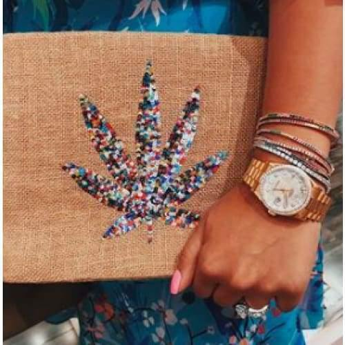 Load image into Gallery viewer, Moyna Jute Clutch | Mary Jane