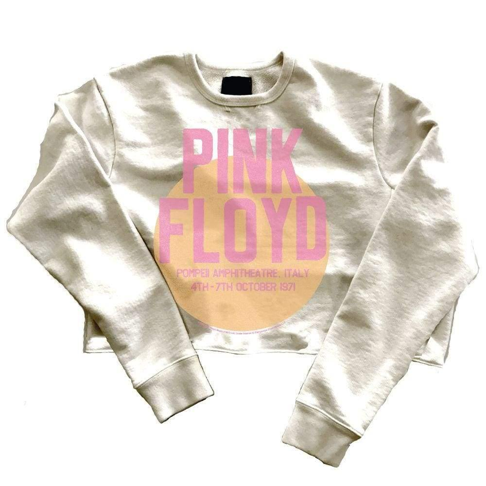 Pink Floyd Sweatshirt Cropped - The Vintage Bohemian
