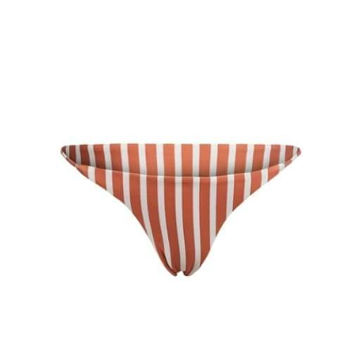 SKIN by SAME String Bottom | Camel White Stripe