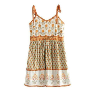 Load image into Gallery viewer, Sorrento Green Boho Dress