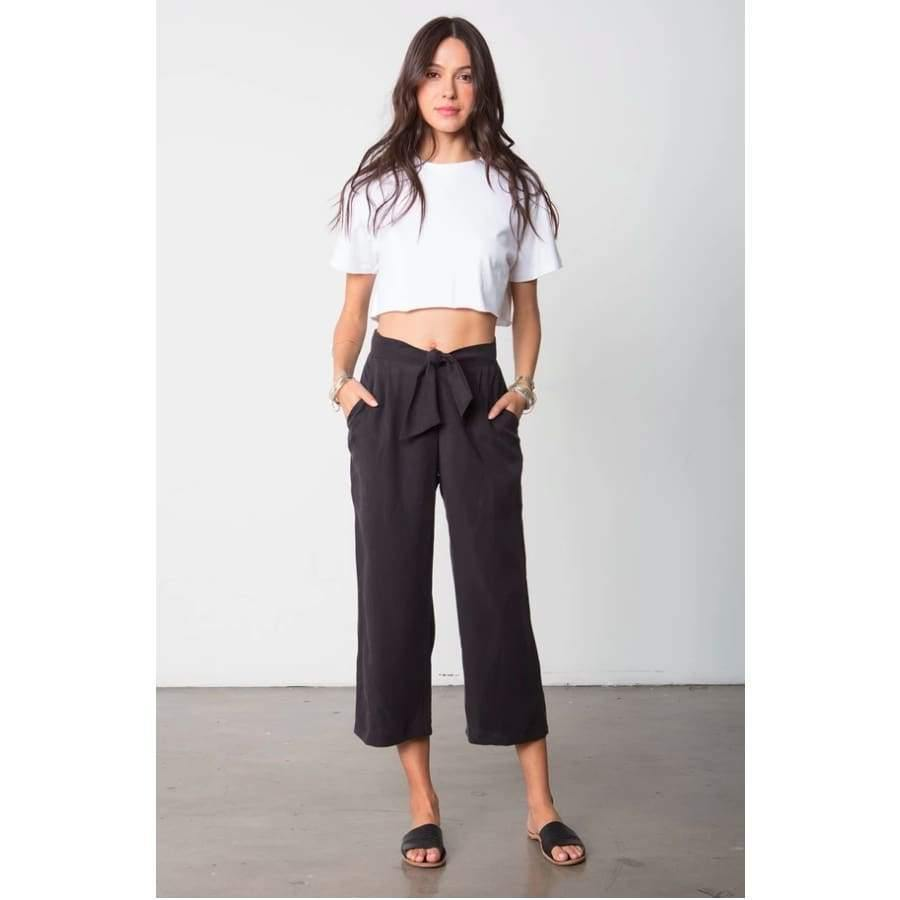 Stillwater The Box Tie Pant | Black