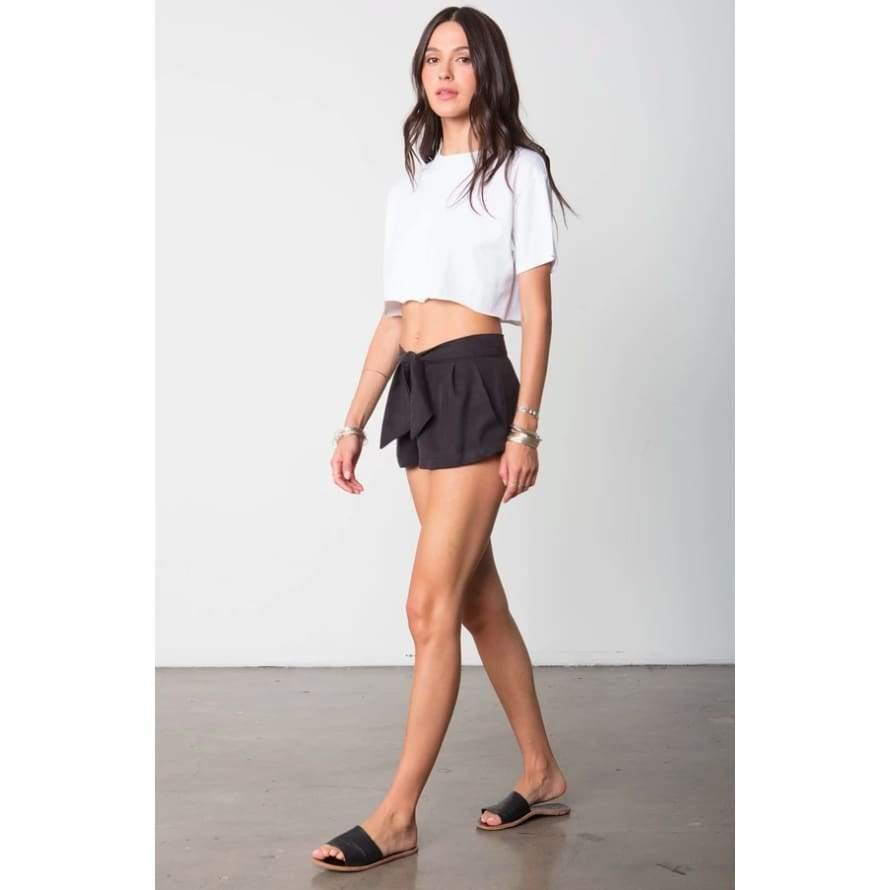 Stillwater The Box Tie Short | Black