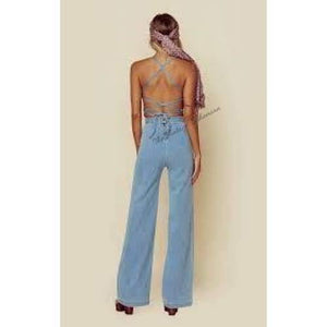 Stoned Immaculate Jean Genie Denim Jumpsuit