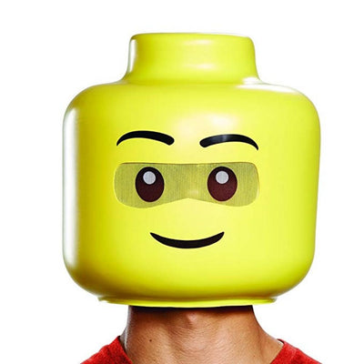 Disguise Mens Lego Iconic Mask & Hands Adult Costume Kit