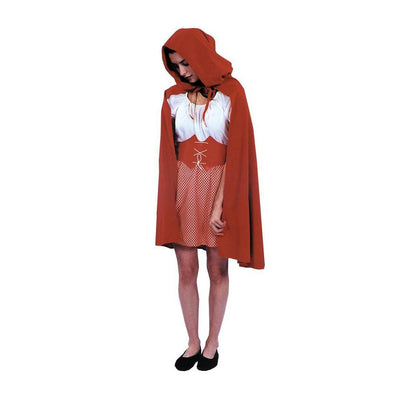 Morris Costumes Red Riding Hood Cape Costume