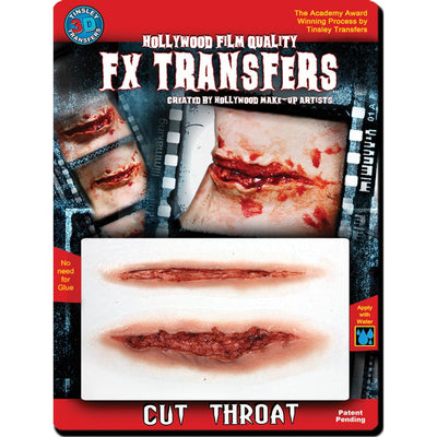 Tinsley Transfers 3D Fx Med Cut Throat