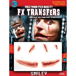 Tinsley Transfers 3D Fx Med  Smiley