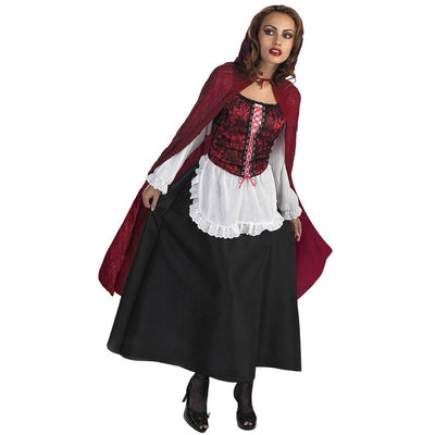 Disguise Red Riding Hood Adult Holloween Costumes Costume