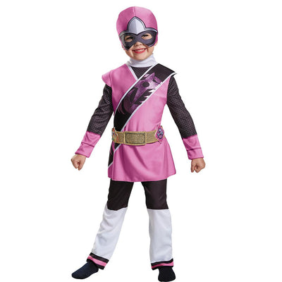 Disguise Pink Ranger N Steel Child Costume