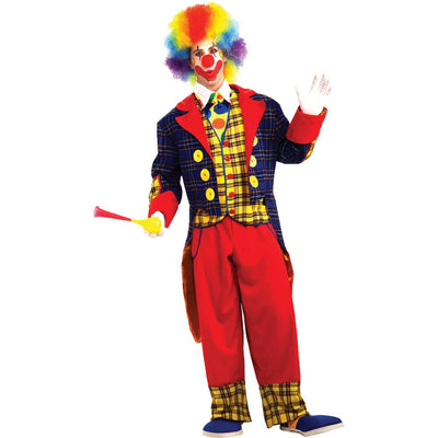 Forum Novelties Checkers The Clown Adult Costume