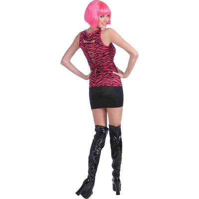 Forum Novelties 80S Pink Zebra Shirt Costume