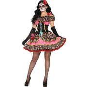 Forum Novelties Day Of Dead Senorita Costume
