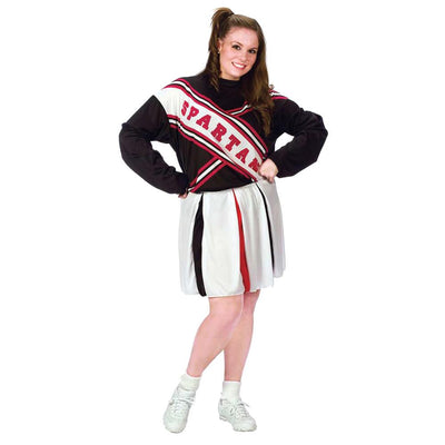 Fun World Cheerleader Spartan Girl Costume
