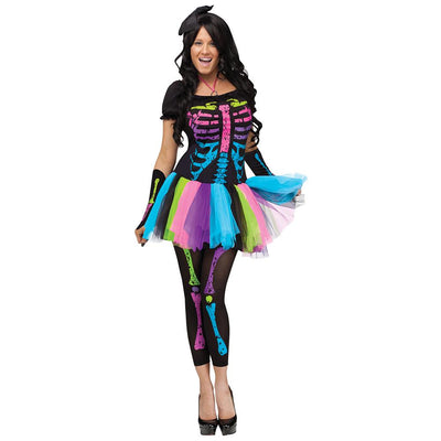 Fun World Funky Punk Bones Adt Costume