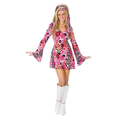 Fun World Feelin Groovy Adult Costume
