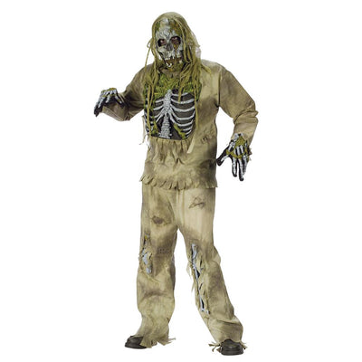 Fun World Skeleton Zombie Adult Costume