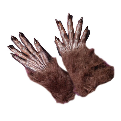 Werewolf Gloves Adult Brown