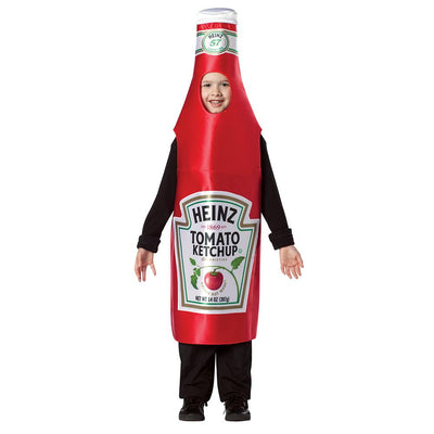 Heinz Ketchup Bottle Costume