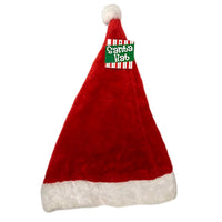 Adults Father Christmas Plush Santa Claus Hat Fancy Dress Costume Accessory