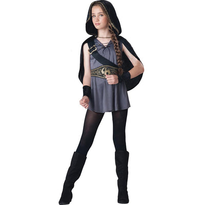 Hooded Child Huntress Costume