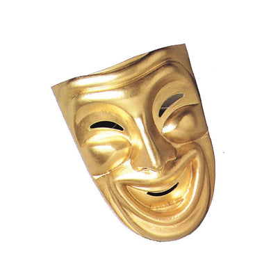 Disguise Comedy Mask Gold