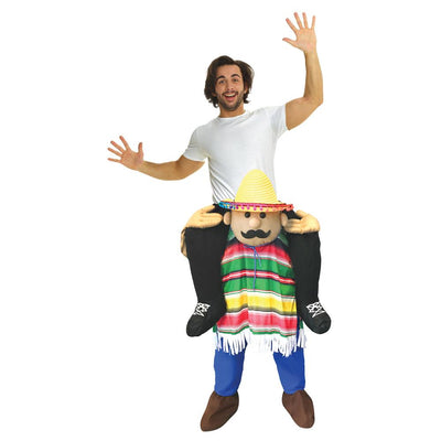 Morris Costumes Cinco De Mayo Piggyback Adult Costume