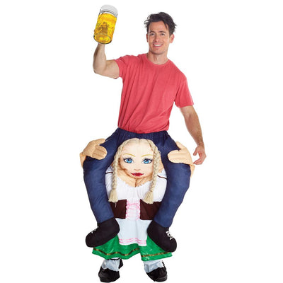 Morph German Beer Wench Piggyback Ad Costume