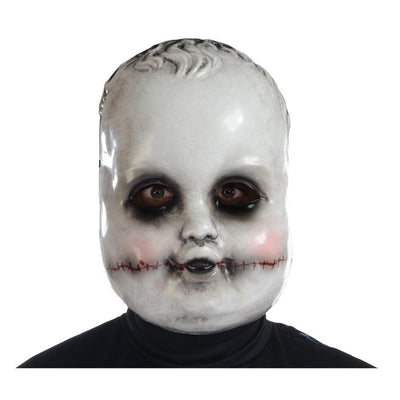 Morris Costumes Smiling Sammie Doll Mask