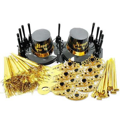 New Years Ultimate Gold Party Kit for 25
