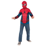 Spiderman Shirt Mask Child Costume