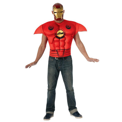 Marvel Iron Man Muscle Chest Adult Costume