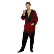 Hugh Hefner Smoking Jacket Costume