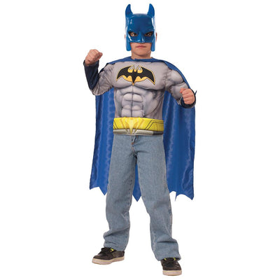 Imagine By Rubies Batman Muscle Chest Set Child Costume