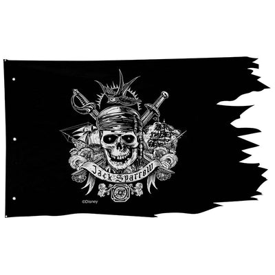 Disney Pirates Of Carib Pirate Flag