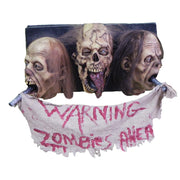 Zombie Wall Plaque 3 Faced
