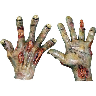 Zombie Rotted Latex Hands