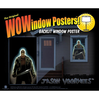 Wowindow Posters Jason Voorhees Window Poster