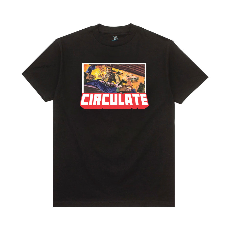Box Office T-Shirt Scene 1 - Black