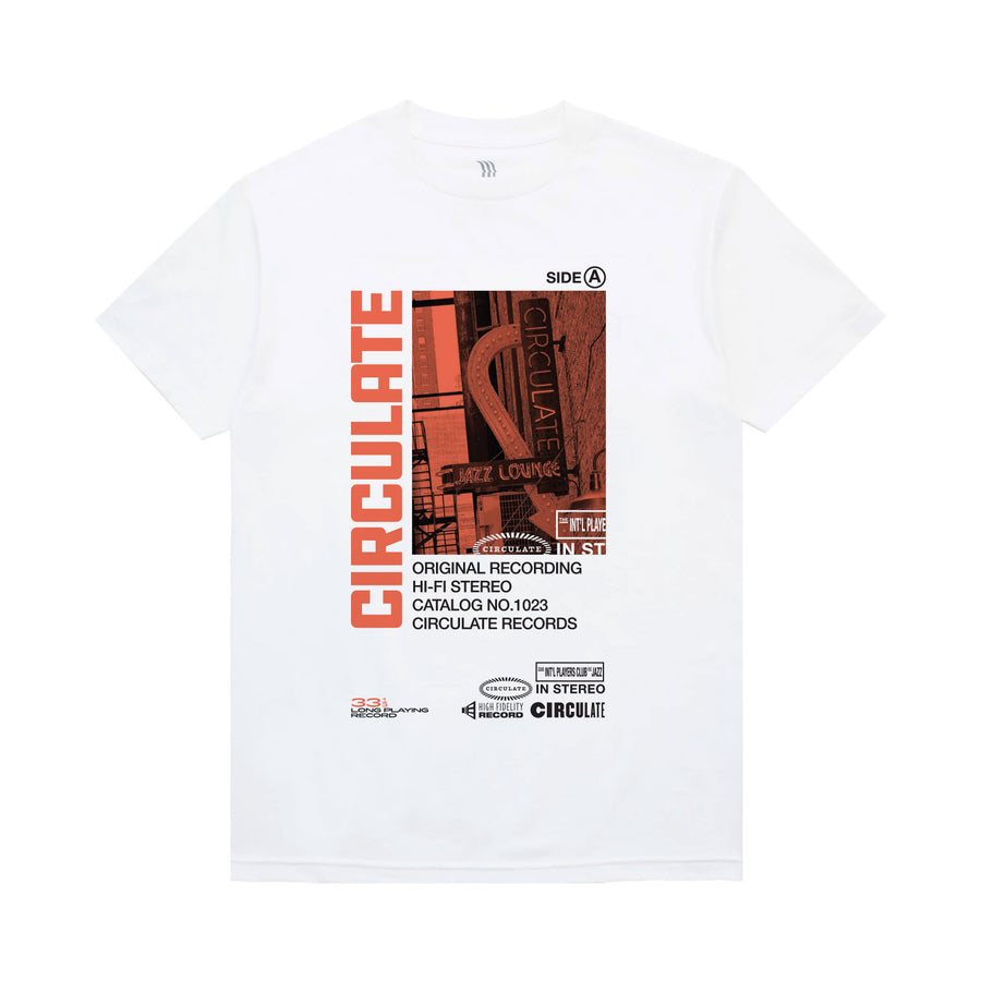 Cassette T-Shirt - Circulate Worldwide